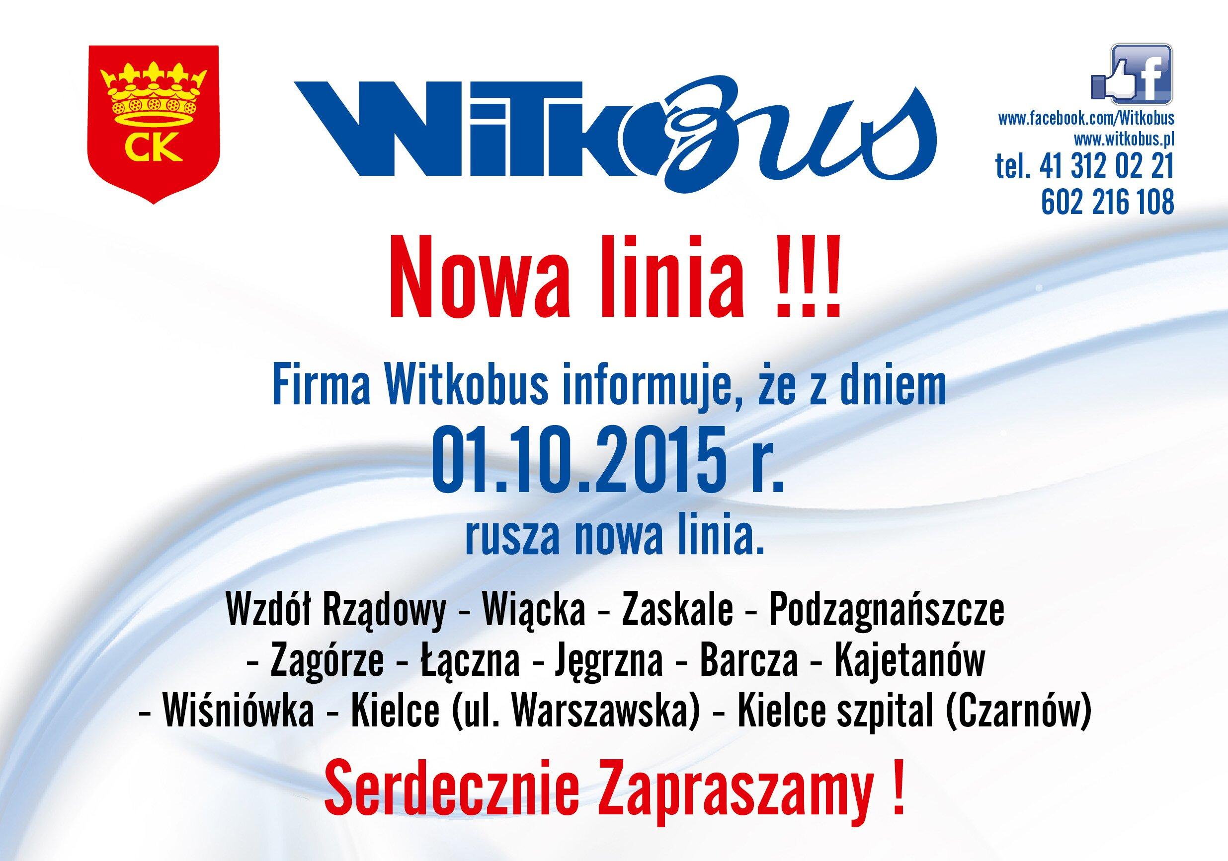plakat WitkoBus